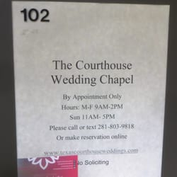 Photo Of The Courthouse Wedding Chapel Houston Tx United States This Place
