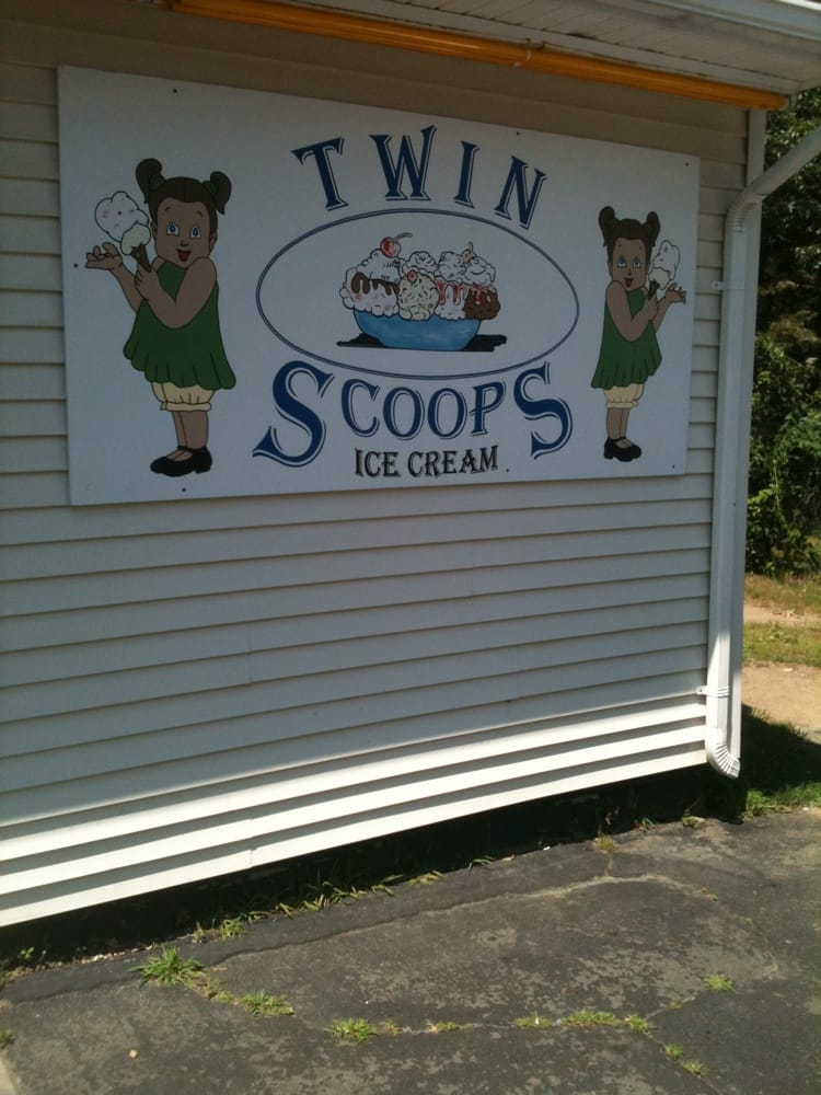 Twin Scoops: Burgoyne Ave & Martindale Ave, Hudson Falls, NY