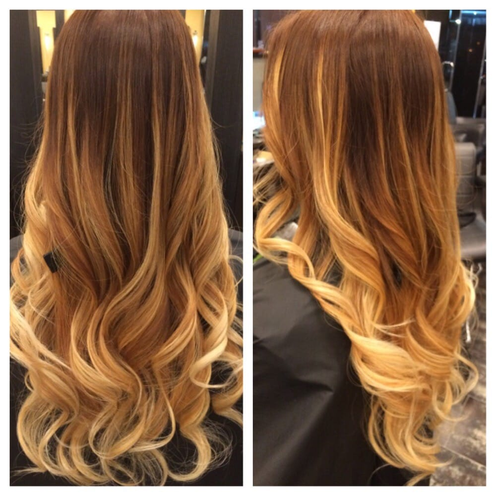 Added More Blonde Ombre Highlights 1 10 14 Yelp