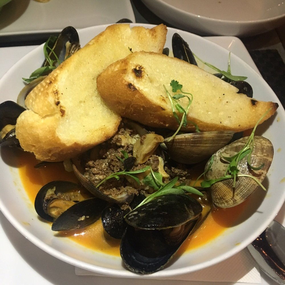 Black Mussels Amp Clams Smoked Manila Clam Broth House