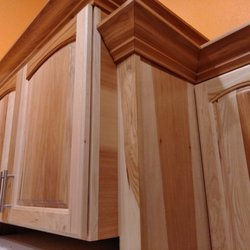 All Wood Cabinets And Granite