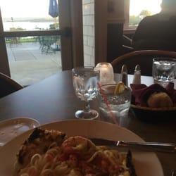 Photo Of Ocean S Edge Restaurant Belfast Me United States Lobster Scampi And