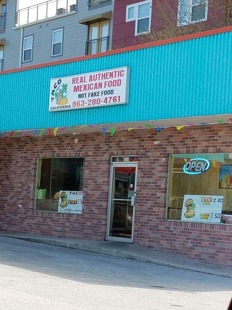 Taco California: 854 6th St NW, Winter Haven, FL