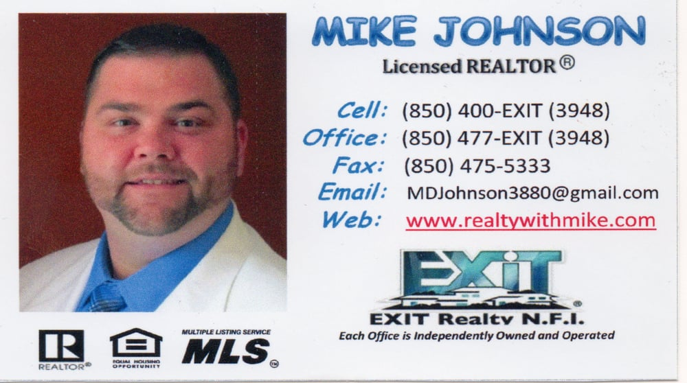Mike Johnson Licensed Realtor Exit Realty Nfi Real