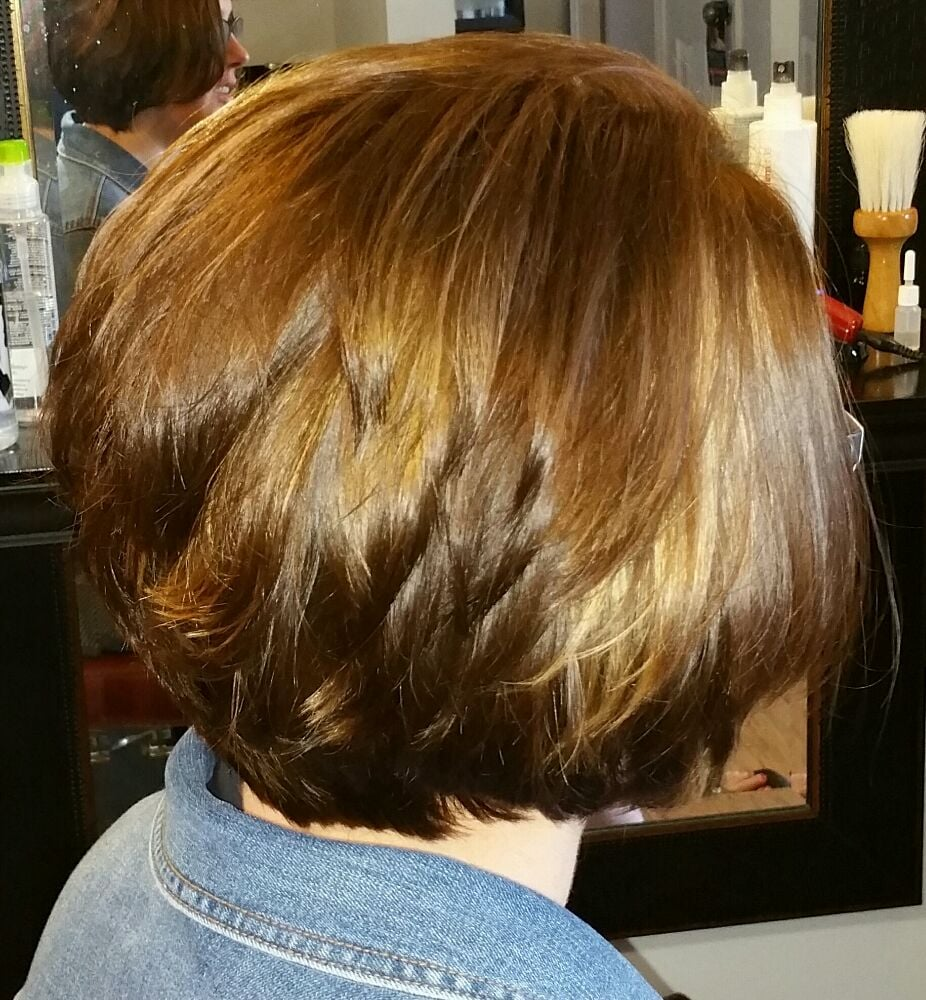 Nicole Got A Fresh New Look For Spring We Did A Chocolate Base With