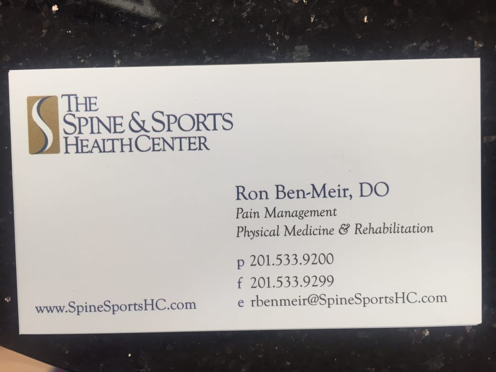 The Spine and Sports Health Center: 123 Tidewater St, Jersey City, NJ