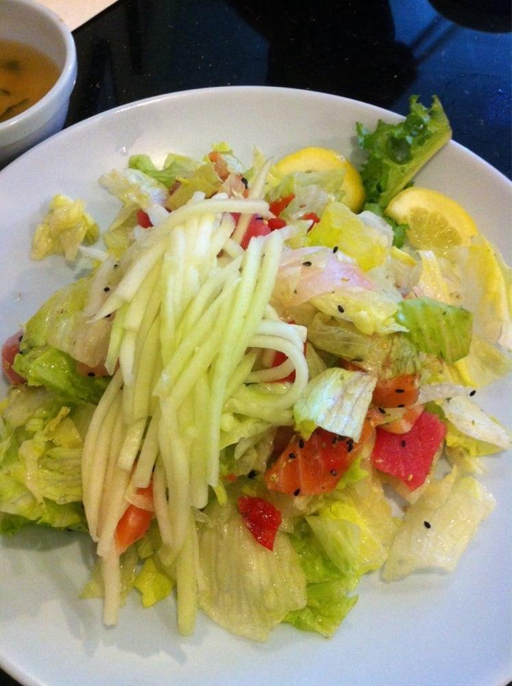 Sashimi salad no dressing yelp for Sashimi dressing