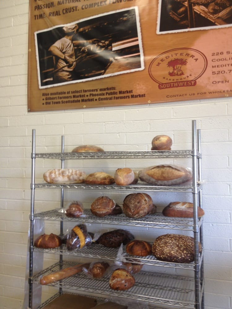 Mediterra Bakehouse: 226 S Main St, Coolidge, AZ