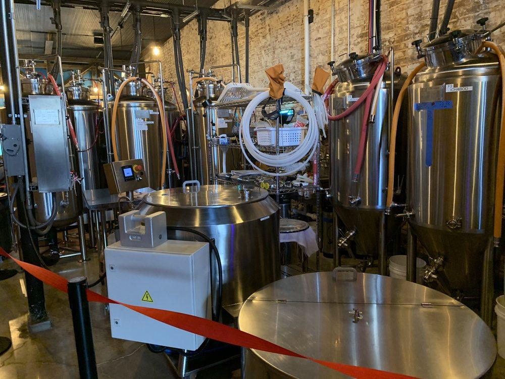 Hell On Horsecreek Brewing: 107 E Murphy St, Madison, NC