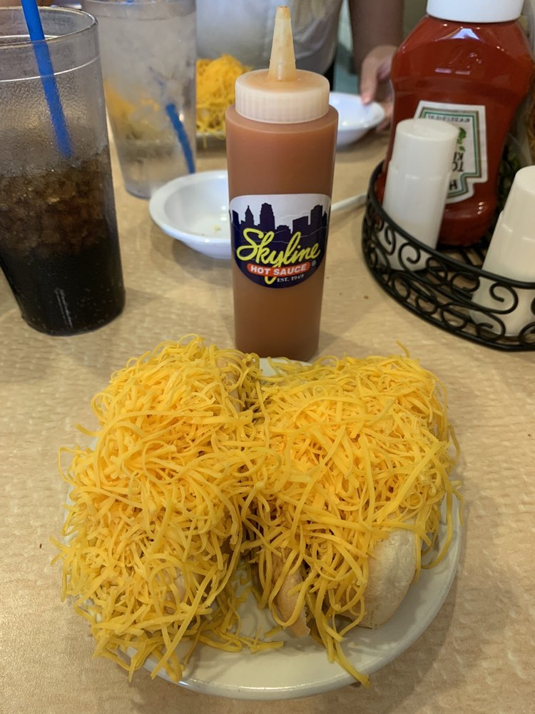 Food from Skyline Chili