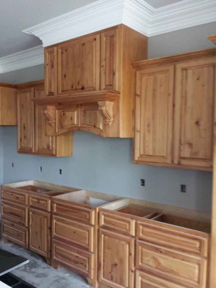 #2 Cypress kitchen cabinets. New construction 2014. - Yelp