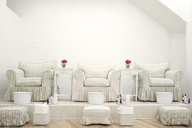 shabby chic pedicure chairs yelp. Black Bedroom Furniture Sets. Home Design Ideas