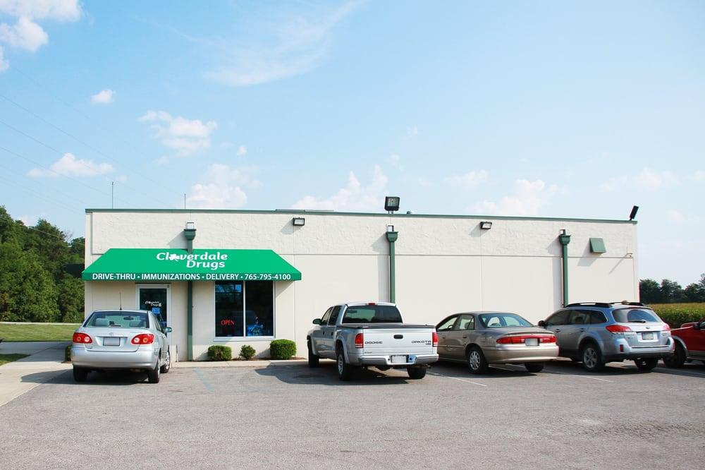 Cloverdale Drugs: 900 N Main St, Cloverdale, IN