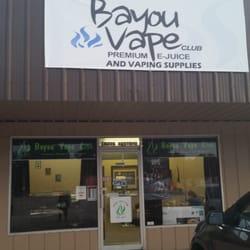 Bayou Vape Club - Vape Shops - 18210 W Main St, Galliano, LA