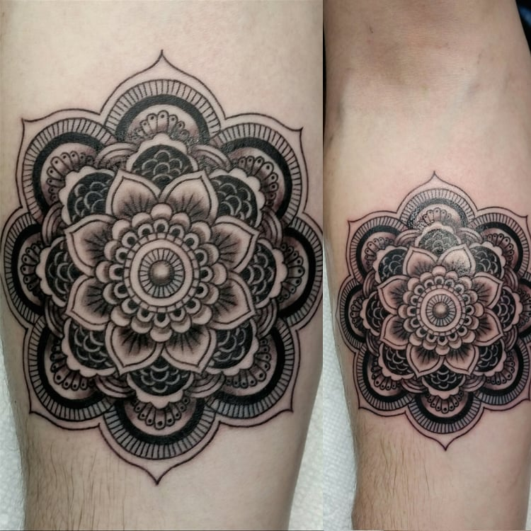 Mandala tattoo yelp for Chicago ink tattoo