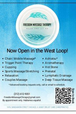 Freedom Massage Therapy - - Massage Therapy - 14 N Sangamon