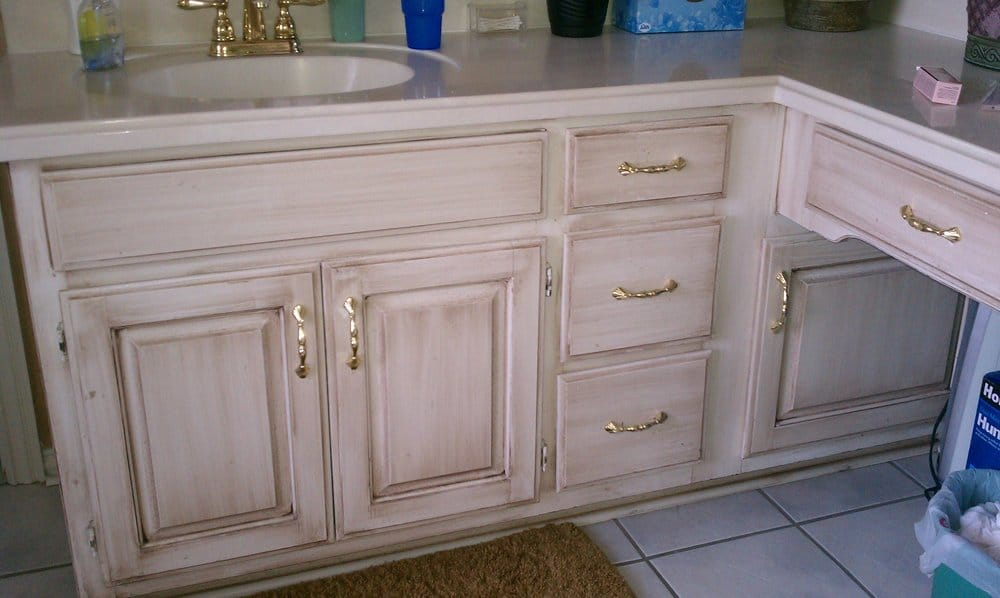 Photo of Christian Painters - Mansfield, TX, United States. Antique Glaze  Cabinets - Antique Glaze Cabinets - Yelp