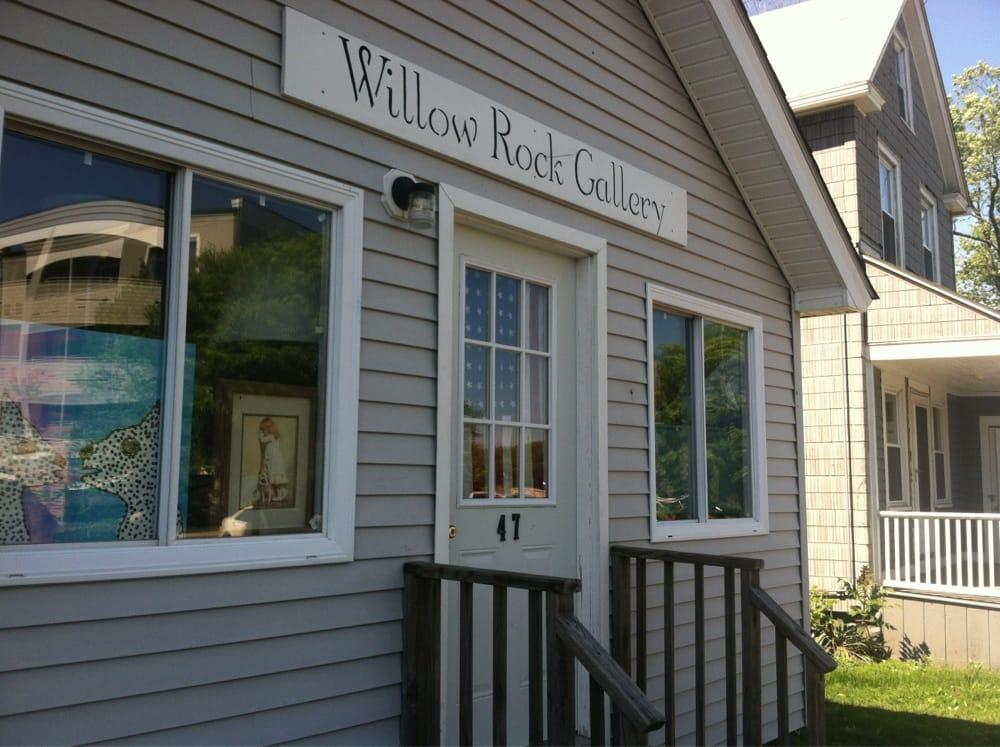 Willow Rock Gallery: 47 Maple St, Branford, CT