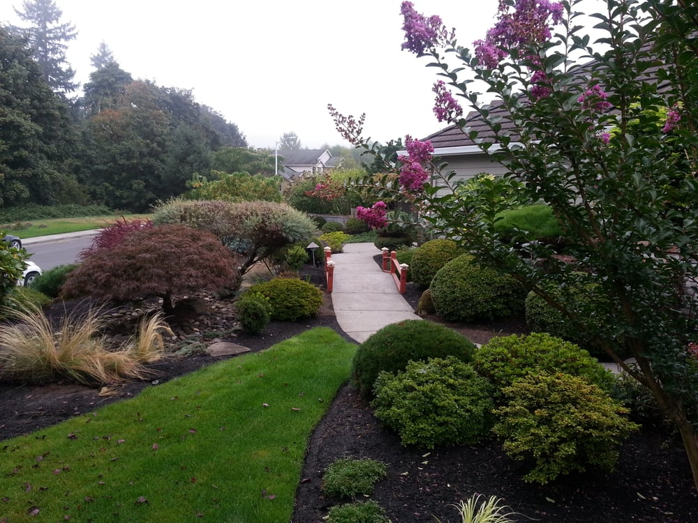 Washougal wa lawn care yelp for The garden maintenance company