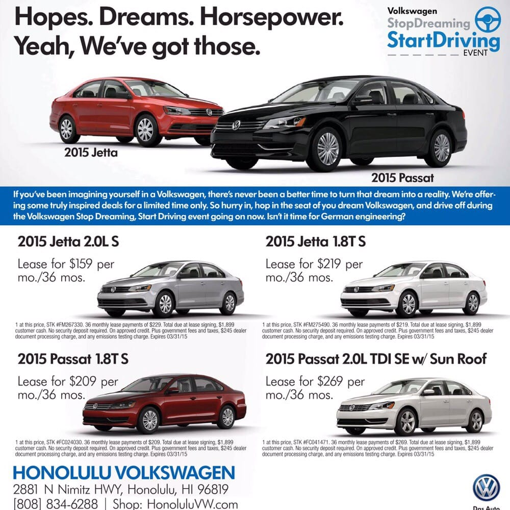Honolulu Volkswagen 67 Photos Amp 145 Reviews Car