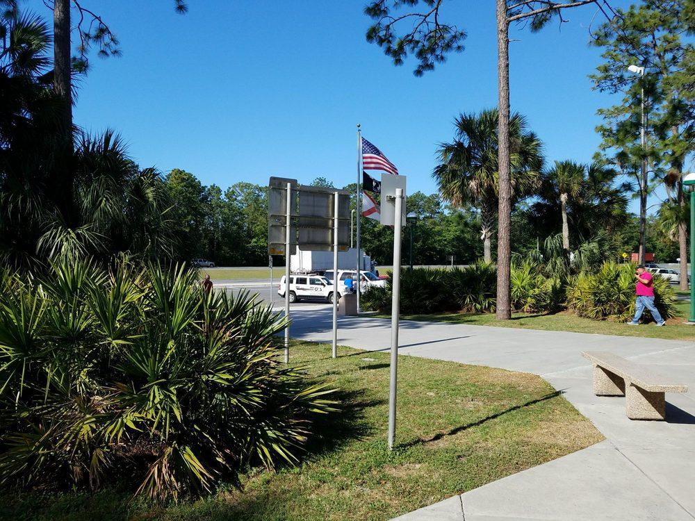 I-10 Rest Area West Bound: Rest Area, Lee, FL