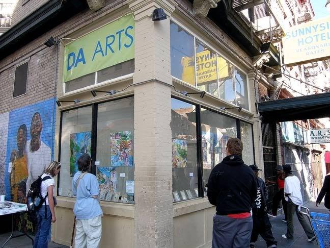 Da arts gallerie d 39 arte spazi espositivi 135 6th st for Western union san francisco ca