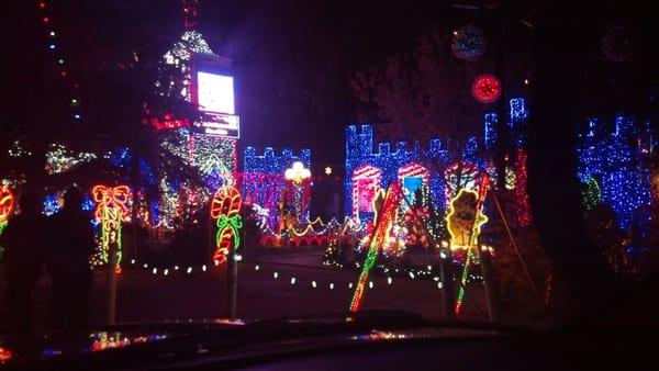 Christmas Tree Lane Van Ness Blvd U0026 Shields Ave Fresno, CA Tourist  Information   MapQuest