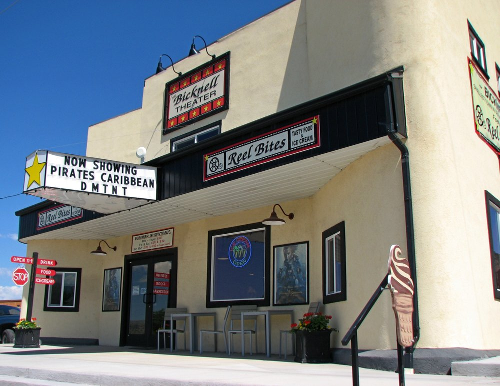 The Bicknell Theater: 11 E Main St, Bicknell, UT