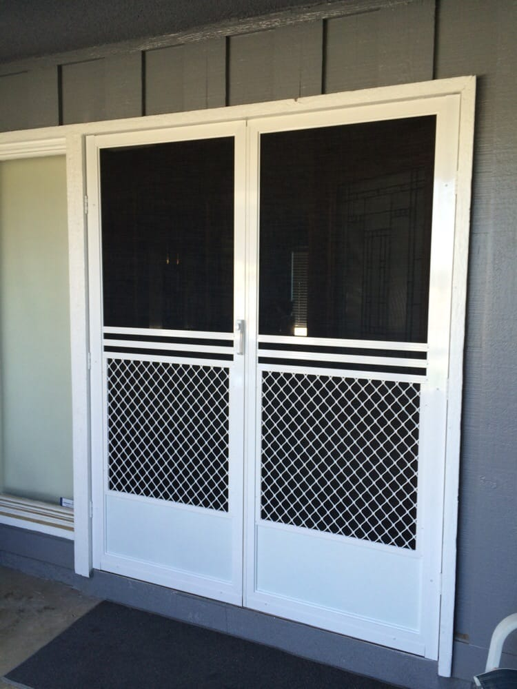 After Shot Of The Same Double Front Doors With The 1 2