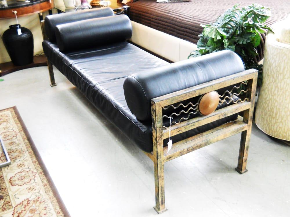 Art Deco Leather Bench Yelp