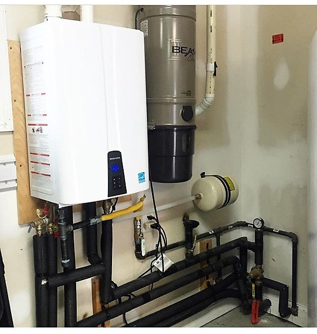 navien tankless water heater with recirculating pump - yelp