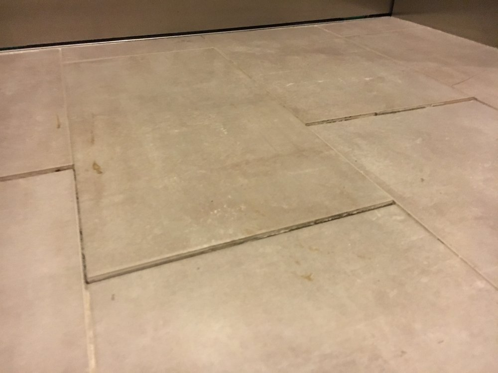 Tile Floors Are Buckling From Poor Construction This Tile