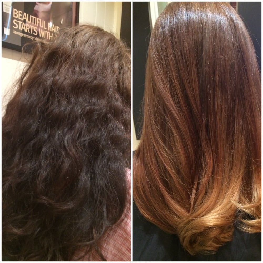 Color Correction Black Box This Is Reverse Ombre Balayage