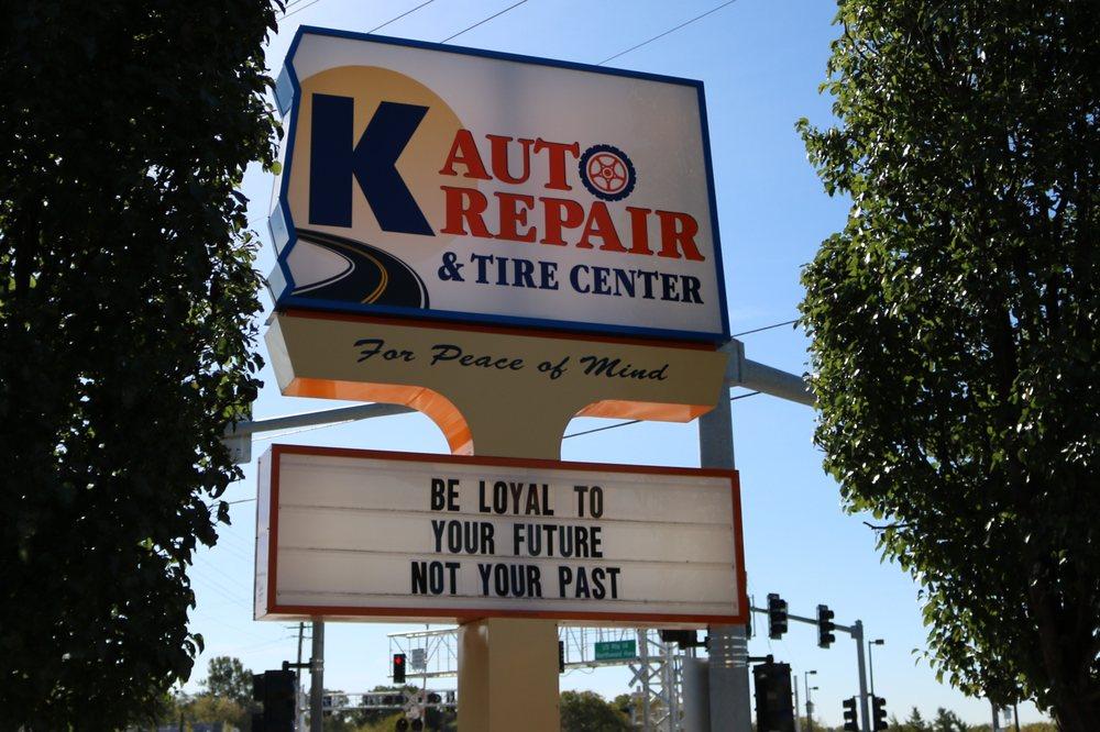 K Auto Repair & Tire Center - Auto Repair - 1804 W Northwest Hwy, Arlington Heights, IL - Phone ...