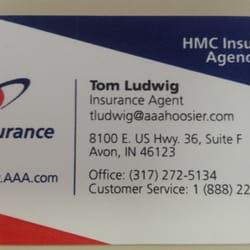 AAA Avon Office Auto Repair 8100 E US Hwy 36 Avon IN Phone