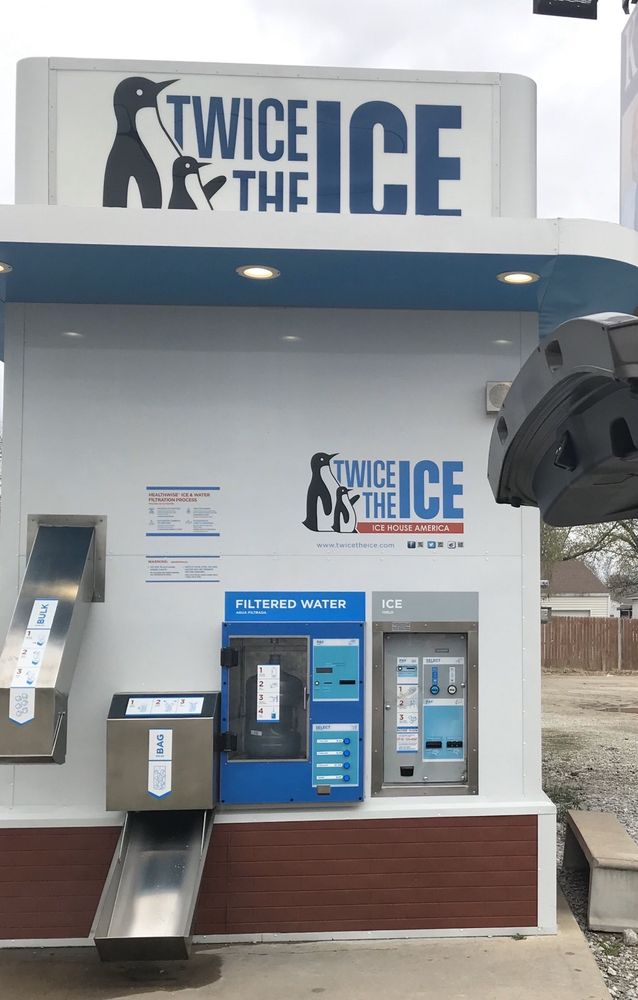 Twice the Ice, Ice House America: 2026 N Main St, Miami, OK