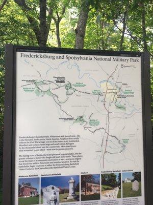 Chancellorsville Battlefield Visitor Center 9001 Plank Rd ... on