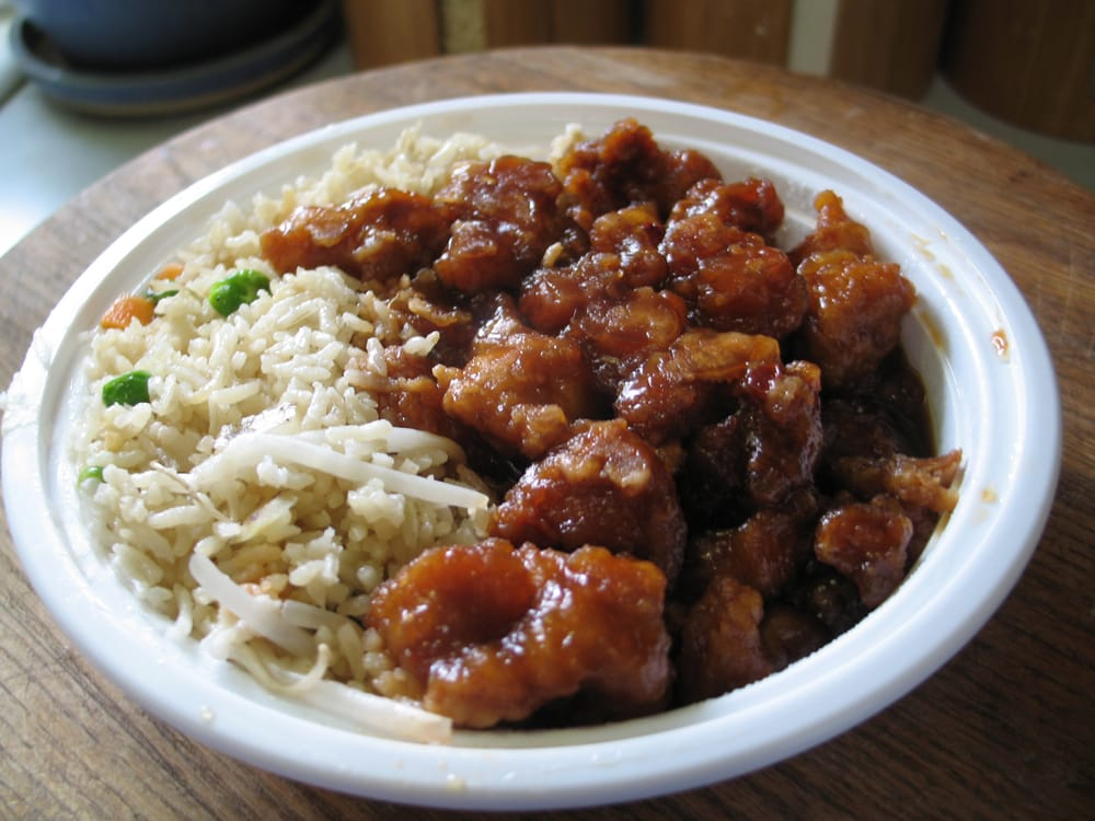 General Tso 39 S Lunch Special Yelp