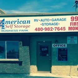 Photo Of American Self Storage Apache Junction Az United States