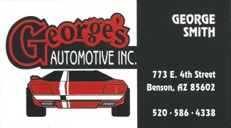 George's Automotive: 773 E 4th St, Benson, AZ