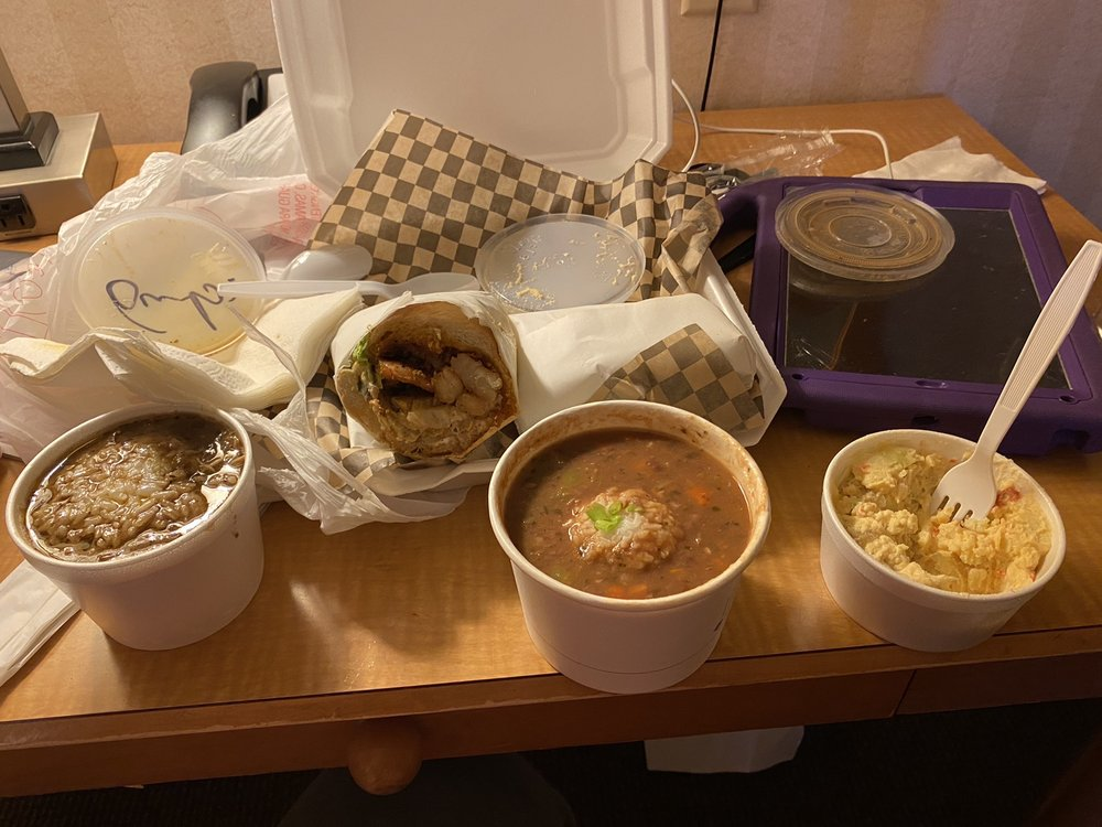 Food from Gumbo House