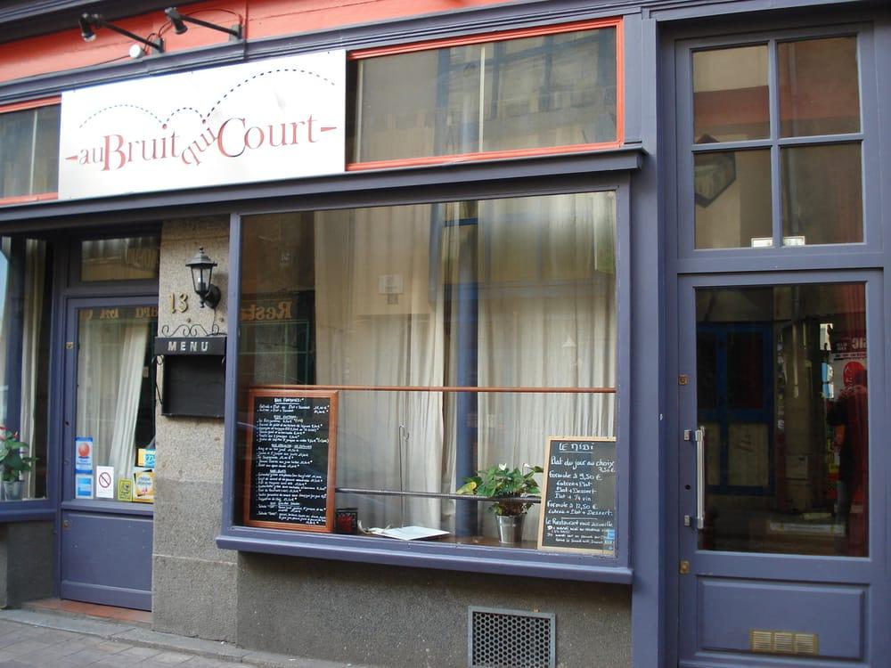 Au bruit qui court frans 13 rue de saint malo rennes for Restaurant o 23 rennes