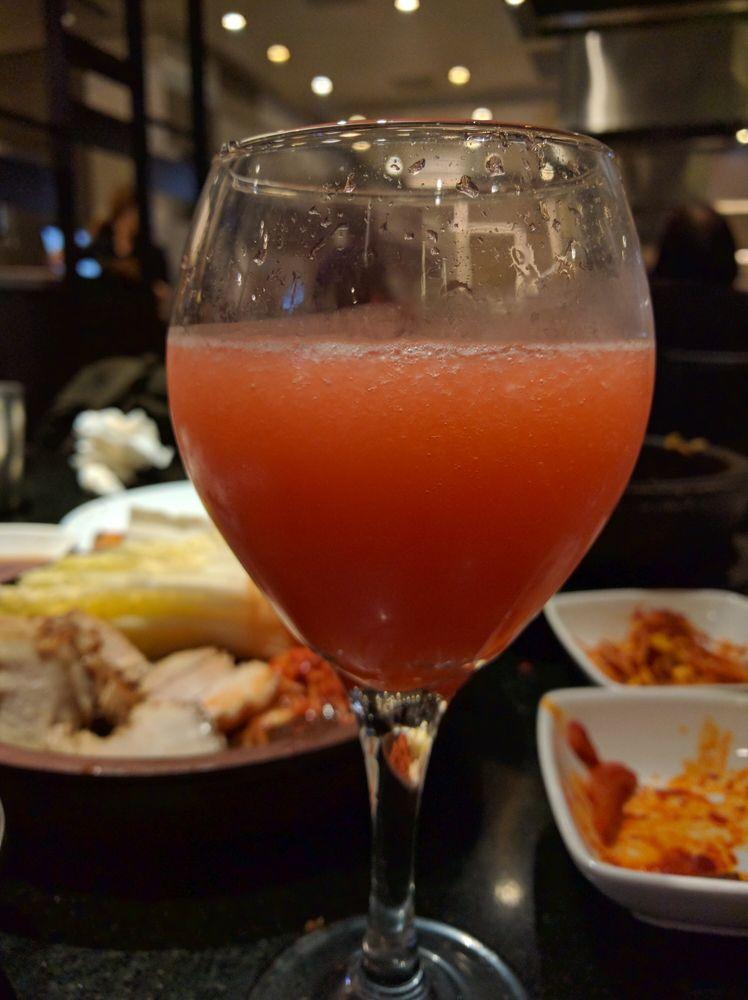 Strawberry soju cocktail - Yelp