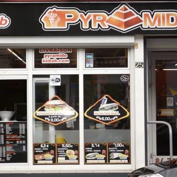 pyramide kebab kebabs 25 rue du brun pain tourcoing