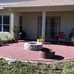 Genial Photo Of Cu0026C Brick Pavers   Tampa, FL, United States. Back Patio With ...
