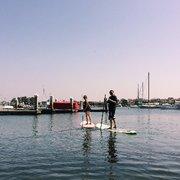 Inside Photo Of Paddle Board Newport Beach Ca United States