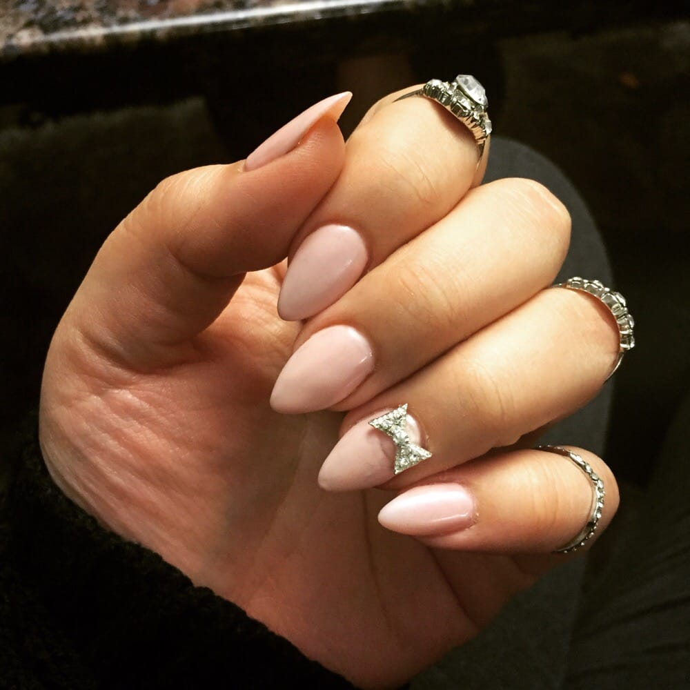Oval nails designs pinterest