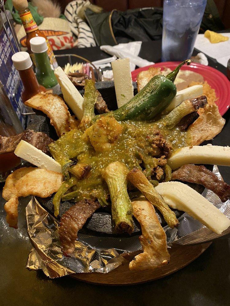 Food from Fiesta Charra