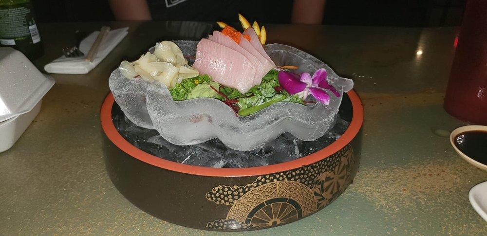 Food from Krazyfish Sushi Thai & More