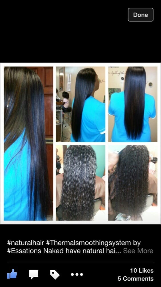 Thermal Smoothing System On Natural Hair Yelp